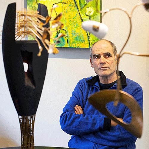Jeff Glode Wise - Modern Art Sculpture in Colorado